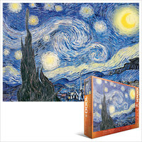 Eurographics - Starry Night / Van Gogh Puzzle (1000 Pieces) - Cover