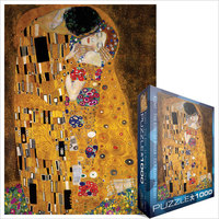 Eurographics - The Kiss / Gustav Klimt Puzzle (1000 Pieces) - Cover