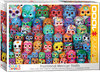 Eurographics Puzzle 1000 Pieces - Traditional Mexican Skulls
