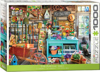 Eurographics - The Potting Shed Puzzle (1000 Pieces) - Cover