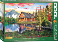 Eurographics - The Fishing Cabin Puzzle (1000 Pieces) - Cover