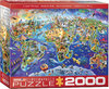 Eurographics - Crazy World Puzzle (2000 Pieces)