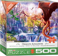 Eurographics - Dragon Kingdom Puzzle (500 Pieces) - Cover