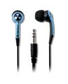 iFrogz EarPollution Plugz In-Ear Headphones - Sky Blue