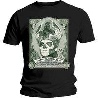 Ghost Papa Cash Mens Black T-Shirt (Medium) - Cover