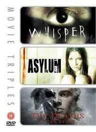 Whisper / Asylum / The Deaths of Ian Stone (DVD) - Cover