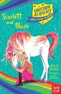 Unicorn Academy: Scarlett and Blaze - Julie Sykes (Paperback) - Cover