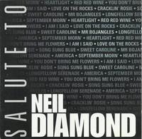 Neil Diamond - A Salute To (CD) - Cover