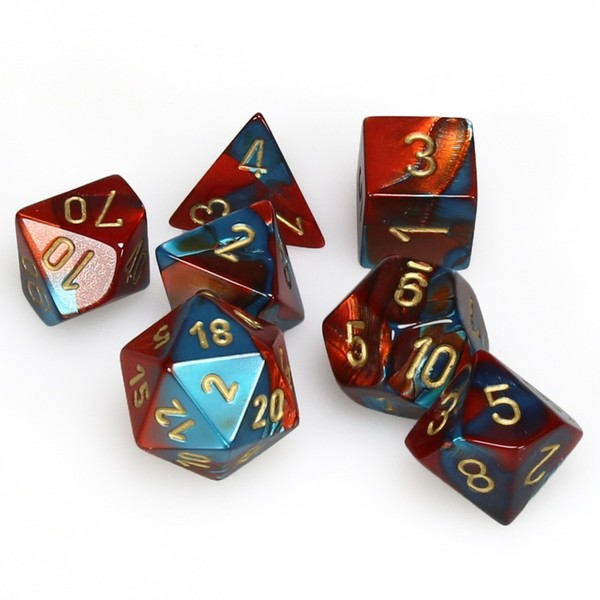 Set Of 7 Polyhedral Dice