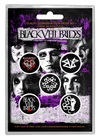 Black Veil Brides - Pentagram (Button Badge Pack)