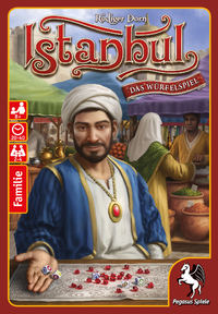 Istanbul: The Dice Game (Dice Game) - Cover