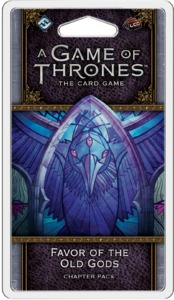 A Game of Thrones: The Card Game (Second Edition) - Favor of the Old Gods Chapter Pack (Card Game) - Cover
