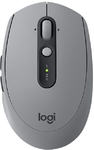 Logitech - M590 RF Wireless+Bluetooth Optical 1000DPI Right-hand Mouse - Grey