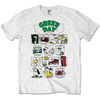Green Day Dookie RRHOF Mens White T-Shirt (X-Large)