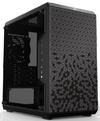 Cooler Master - MasterBox Q300L Micro ATX Desktop Chassis Modular I/O Panel Side Window - Black (No PSU)