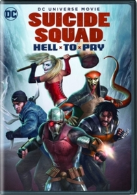 Suicide Squad: Hell to Pay (DVD) - Cover