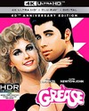 Grease (40th Anniversary Edition) (Region A - 4K Ultra HD + Blu-Ray)