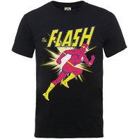 DC Originals Flash Running Boys Black T-Shirt (7 - 8 Years) - Cover