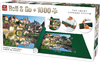 King Puzzle - Roll and Go - Burgandy, France Puzzle (1000 Pieces)