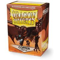 Dragon Shield - Standard Sleeves - Matte Copper (100 Sleeves)
