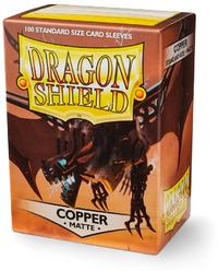 Dragon Shield - Standard Sleeves - Matte Copper (100 Sleeves) - Cover