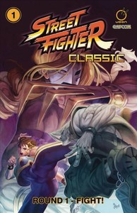 Street Fighter Classic 1 - Round 1 - Fight! - Ken Siu-Chong (Paperback) - Cover