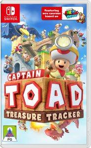 Captain Toad: Treasure Tracker (Nintendo Switch) - Cover