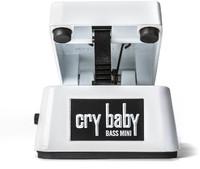 Dunlop CBM105Q Cry Baby Mini Bass Wah Pedal (White) - Cover