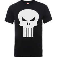 Knights Punisher Skull Icon Boys Black T-Shirt (7 - 8 Years) - Cover