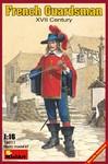MiniArt - 1/16 - French Guardsman XVII Century (Plastic Model Kit)
