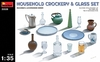 MiniArt - 1/35 - Household Crockery & Glass Set (Plastic Model Kit)
