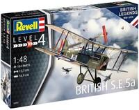 Revell - 1/48 - British Legends: British S.E.5a (Plastic Model Kit) - Cover