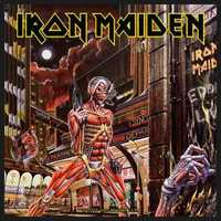 Iron Maiden - Somewhere Back In Time (Patch) - Cover