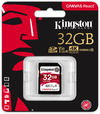 Kingston Technology - SD Canvas React 32GB SDHC UHS-I U3 Memory Card