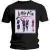 Little Mix Glory Days Boyfriend Ladies Black T-Shirt (Large)