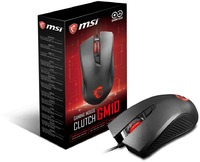 MSI CLUTCH GM10 4 Button Asymmetric Ergonomic Gaming Mouse - Cover