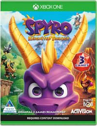 Spyro Reignited - Remastered Trilogy (Xbox One) - Cover