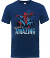 Amazing Spider-man Boys Navy T-Shirt (5 - 6 Years)