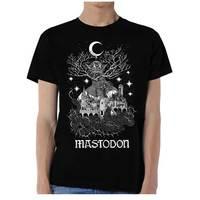 Mastodon Quiet Kingdom Mens Black T-Shirt (Medium) - Cover