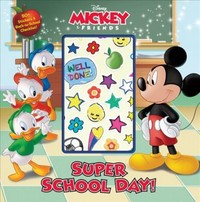 Mickey Goes Back to School - Disney Book Group (Paperback) - Cover