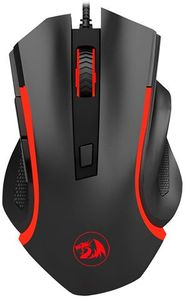 Redragon Nothosaur 3200DPI Gaming Mouse - Black and Red - Cover