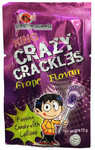 King - Crazy Crackles - Grape Popping Candy (15g)