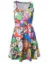 Nintendo - Mario & Friends - Multicolour Dress (Medium)