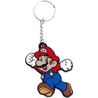 Nintendo - Super Mario - Rubber Keychain - Multicolour