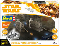 Revell - Star Wars Build & Play Imperial Patrol Speeder (Plastic Model Kit) - Cover
