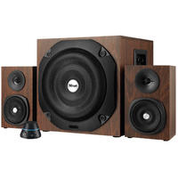 Trust - Vigor 2.1 Subwoofer Speaker Set - Brown