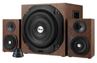Trust - Vigor 2.1 Subwoofer Speaker Set - Brown - Cover