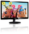Philips 19.5 Inch LED FHD Monitor - Black