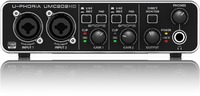 Behringer UMC202HD U-Phoria Audiophile 2-Channel USB Audio Interface - Cover