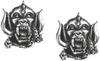 Motorhead - Warpig (Ear Studs)